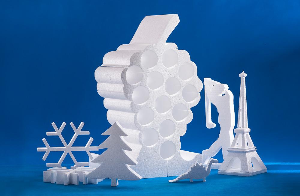 řezaný polystyren